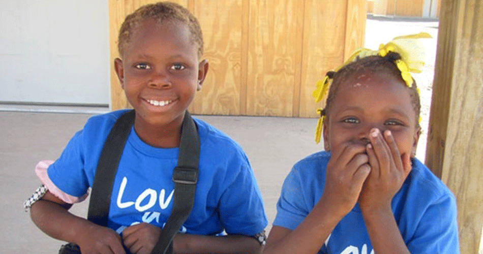 These children are thankful for a home.