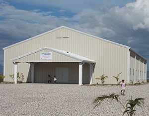 Our Miracle Village Church in Haiti
