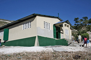 Our Church and School in La Roche, Haiti