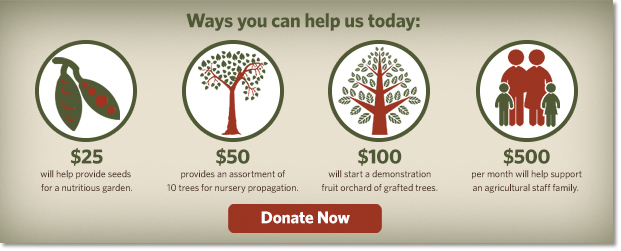 Donate to our Agricultural Program
