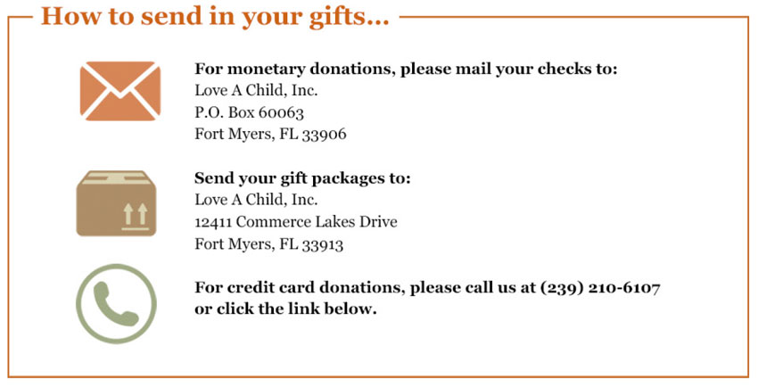 Ways to donate to and help children in Haiti today!