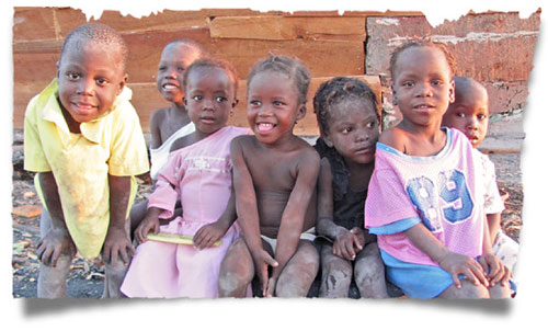 Help sponsor or feed a child in Haiti today.