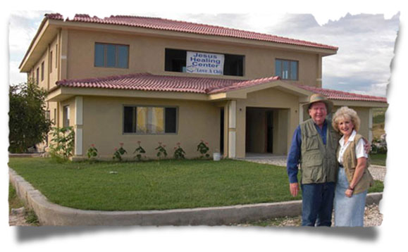 Bobby and Sherry Burnette and the Jesus Healing Center Medical Facility in Haiti