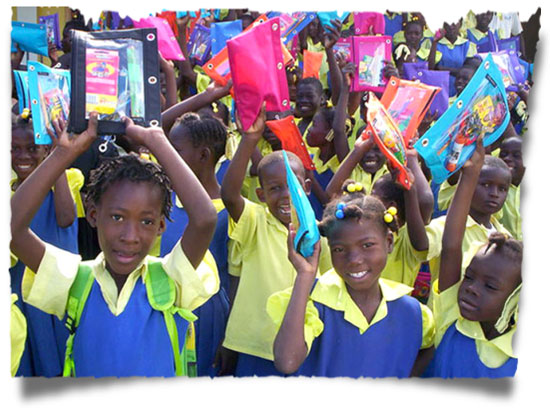 Your gift pack will make such a difference in life of a child in Haiti.