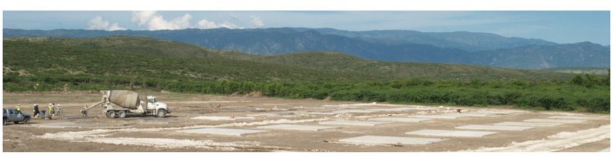Future grounds of Miracle Village - our village of new homes for Haitians following the Earthquake.