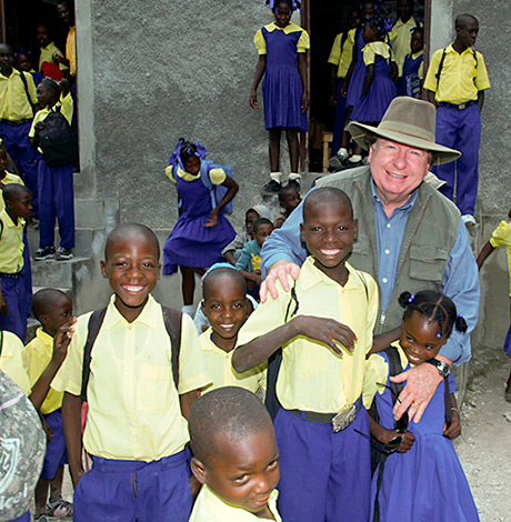 Christian School in Haiti Bobby Burnette