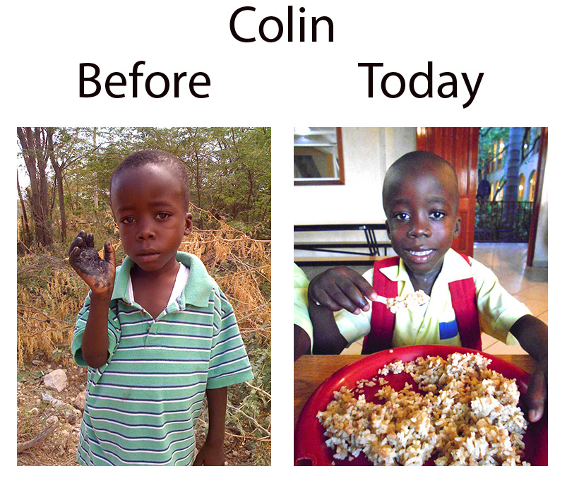 Colin Now and Before
