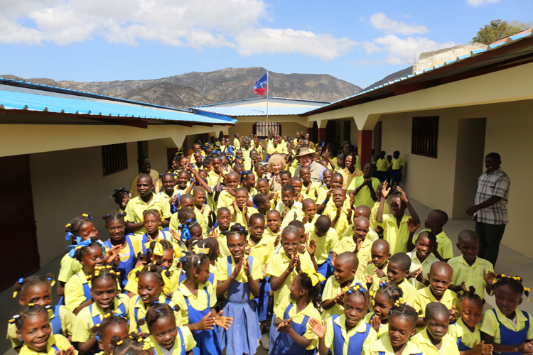 Child Sponsorship keeps all these children in school.