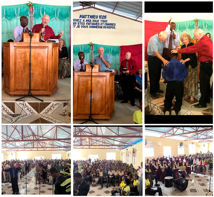 New church in La Tremblay for Pastor Claude.
