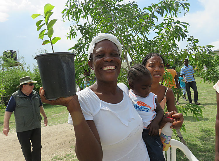 2016 Year in Review Earth Day in Haiti