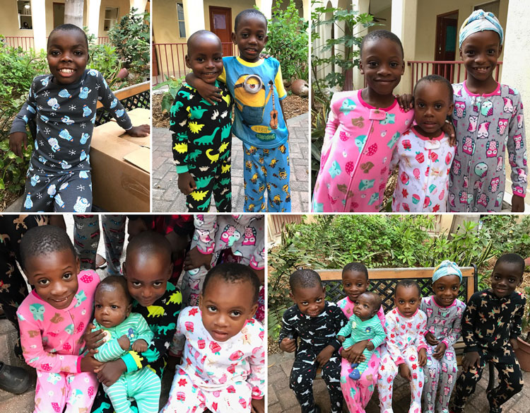 Love A Child pajama party