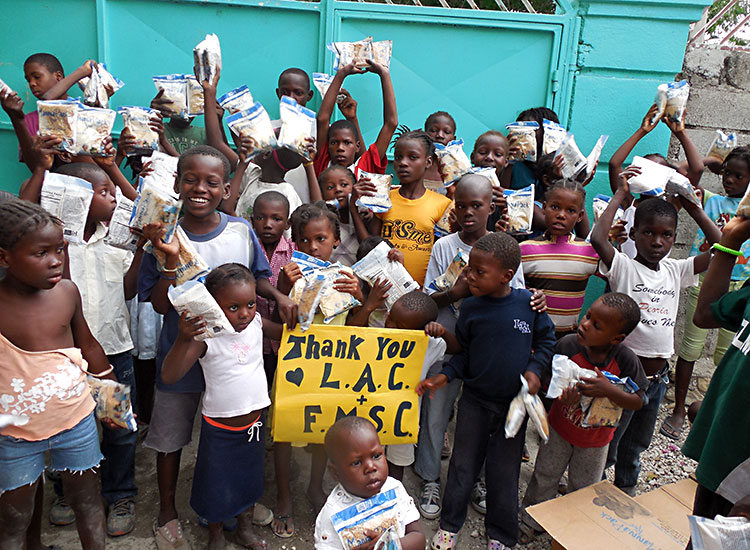 Thank you partners, donors and friends for bringing food to the poorest of the poor in Haiti.