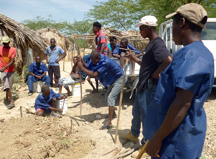 Wilner taking his program to help Haitians to other poor villages in the area.