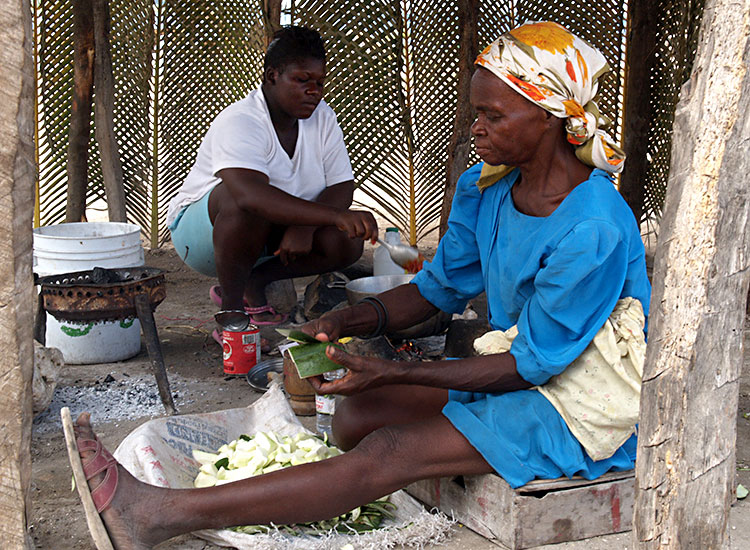 Feeding their families with nutritious food is essential for improving the lives of Haitians every day