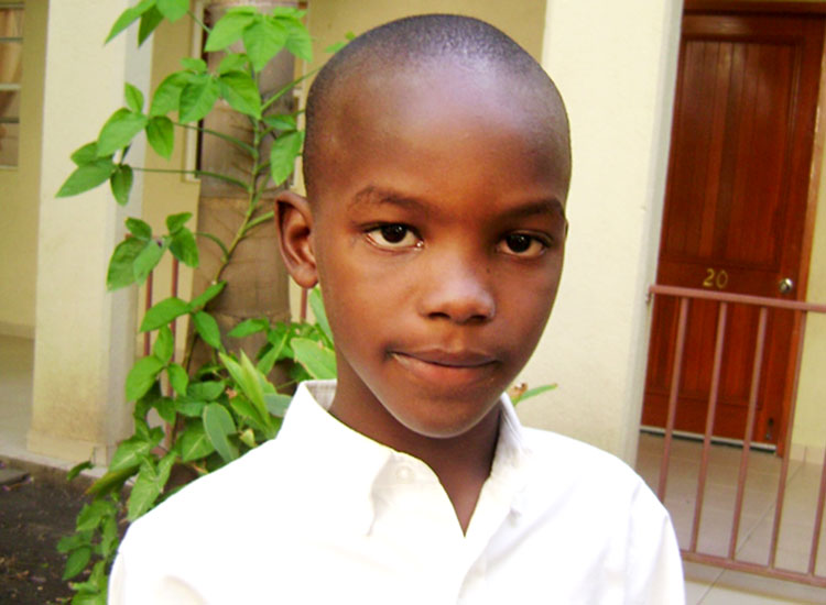 Stanley became an orphan as a young boy when his parents died.