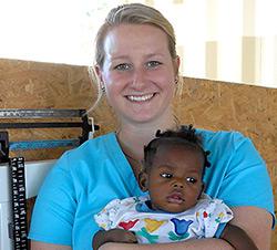 Kaeli Fletcher - field missionary in Haiti