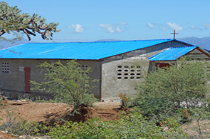 Our Church and School in Le Tant, Haiti
