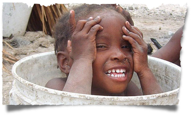 Give a Haitian child hope with a donation today!