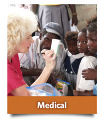 Mobile Medical Clinics in the mountains of Haiti