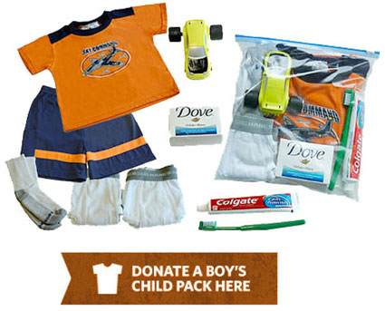 Donate a Boys pack for a needy child in Haiti here.