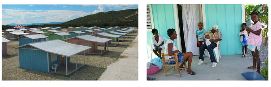 An expanded view of Miracle Village - our village of new homes built for Haitians following the Earthquake.