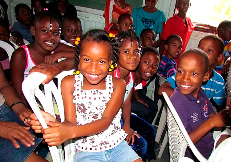a church for the people of the batey in the dominican republic