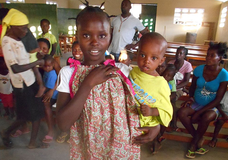 New Handmade Dresses For The Poor Children Of Haiti