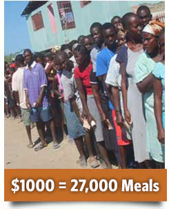 Donate today and make a difference in Haiti.