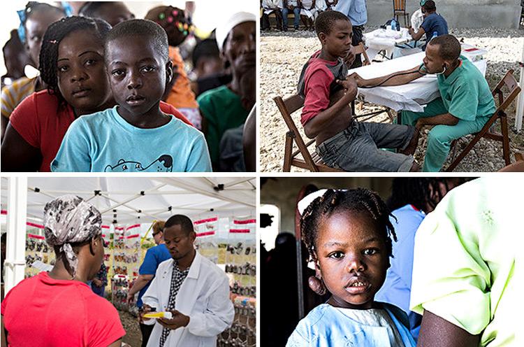 Mobile Medical Clinic in Sapaterre, Haiti