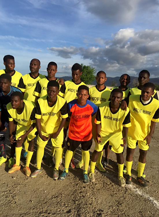 Gwo Maché Mirak Soccer Team