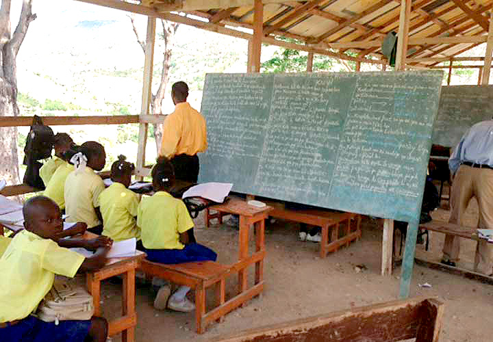 Haiti's schools are a shambles