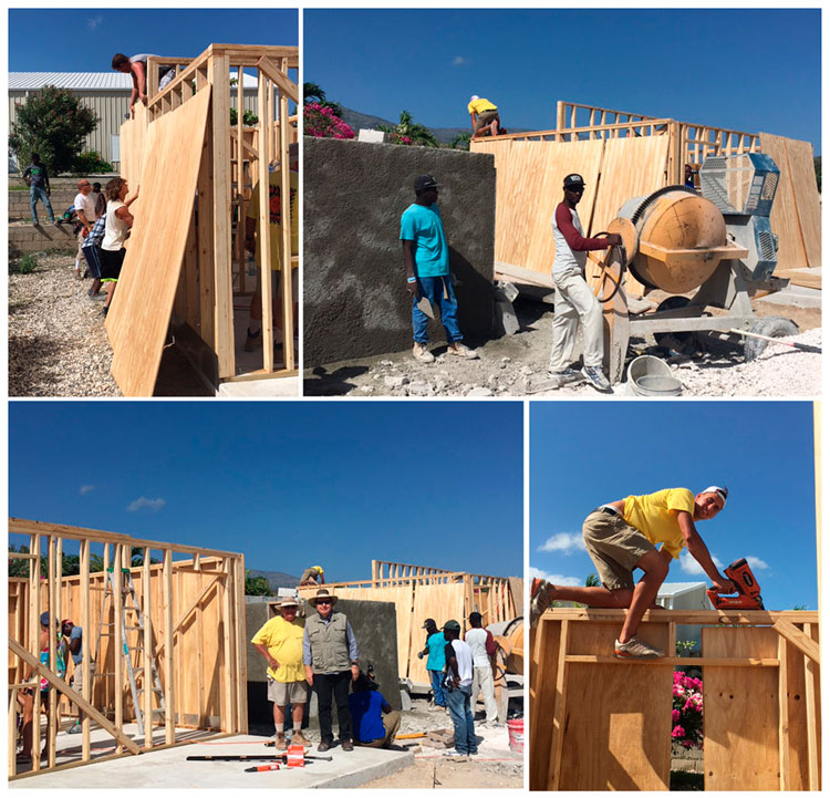 Building houses in Miracle Village