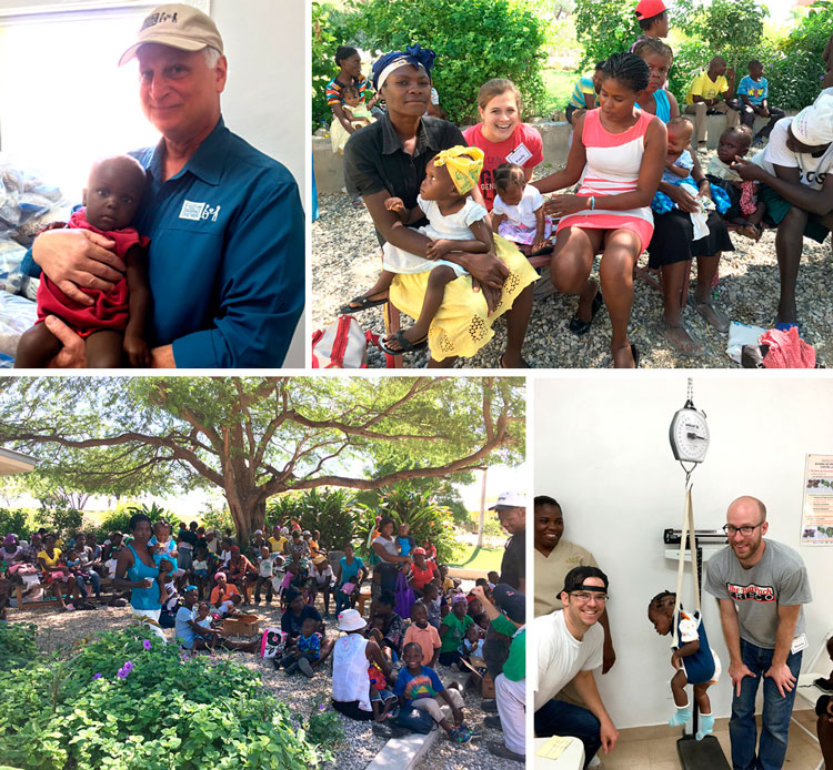 Feed My Starving Children team visit the Malnutrition Clinic