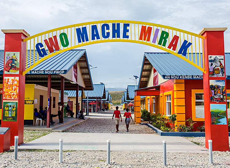Gwo Maché Mirak is growing as a successful sustainability project in the Fond Parisien area of Haiti.