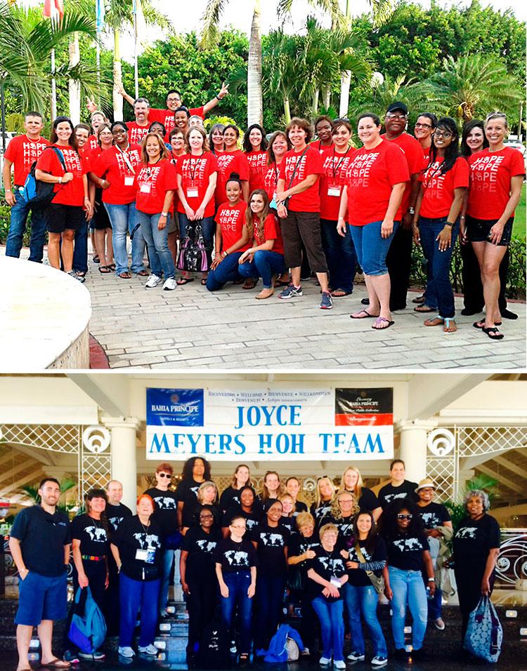 2016 Year in Review - Volunteer Team Joyce Meyer Ministries - Hand of Hope