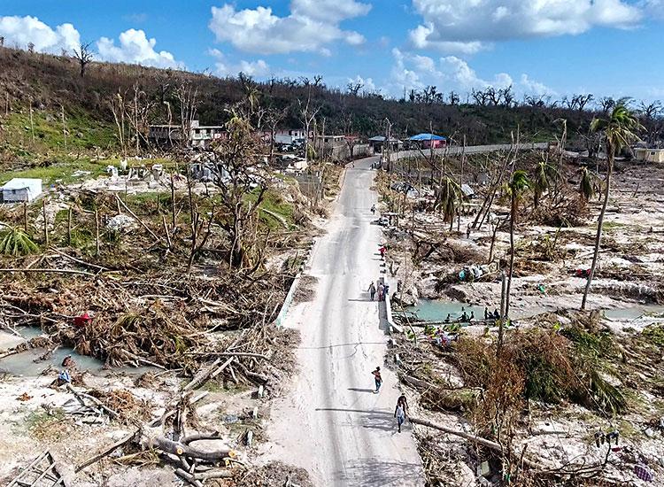 2016 Year in Review - Hurricane Matthew devastation