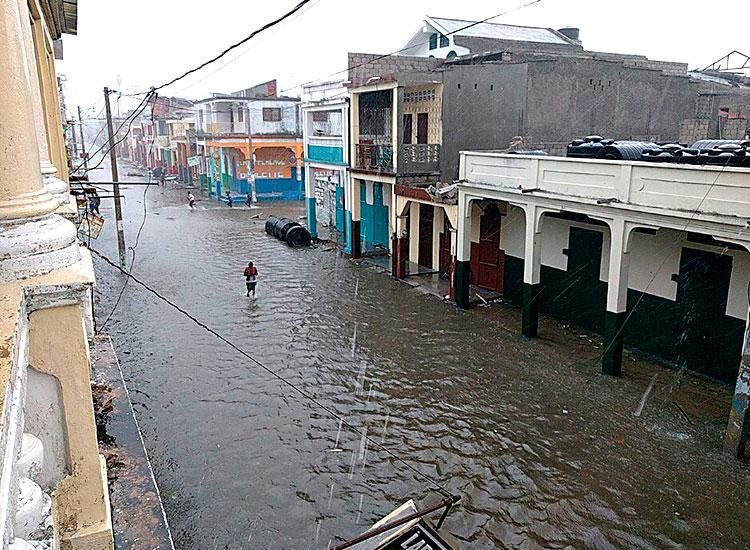 2016 Year in Review - Hurricane Matthew flooding