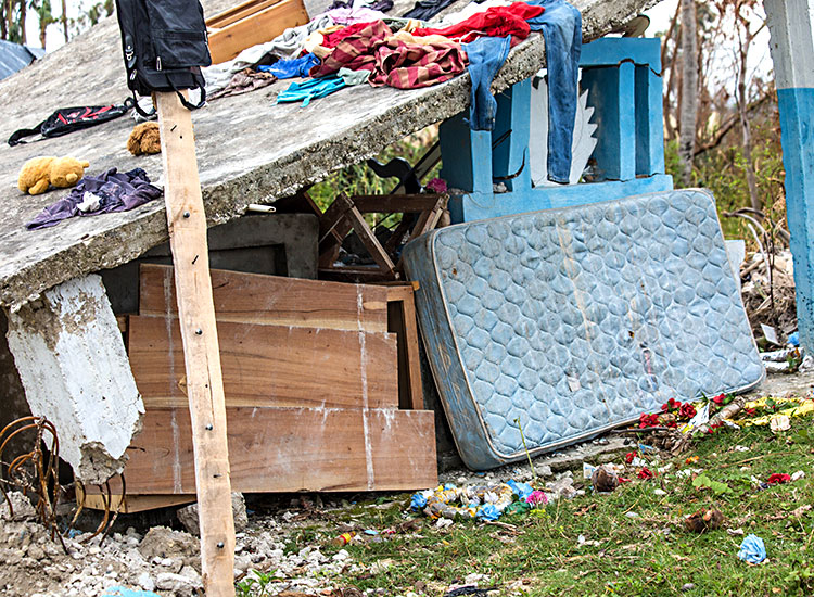 Homes lost in Hurricane Matthew