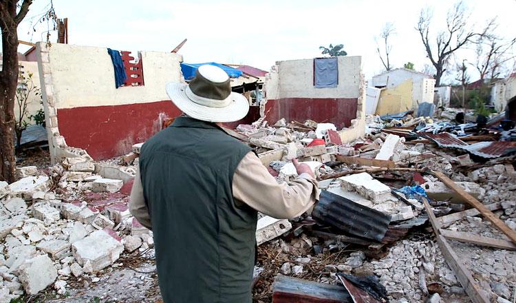 Hurricane Matthew left a path of destruction across Haiti