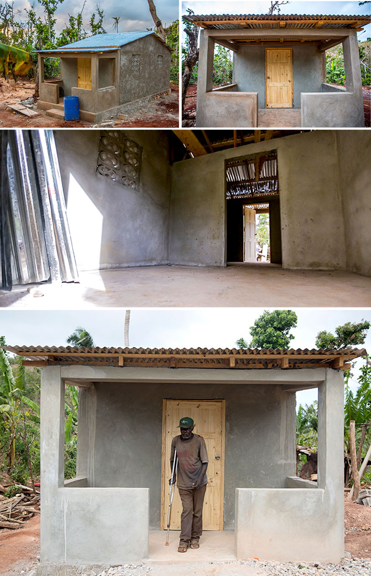 New block homes for the cave dwellers