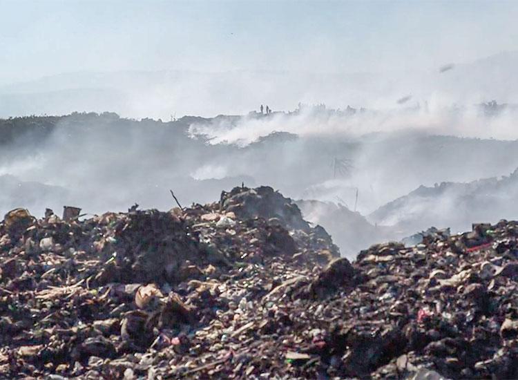 Living in garbage dumps of Cité Soleil.