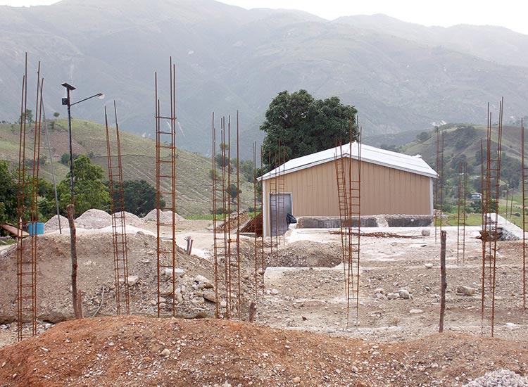 New school construction.
