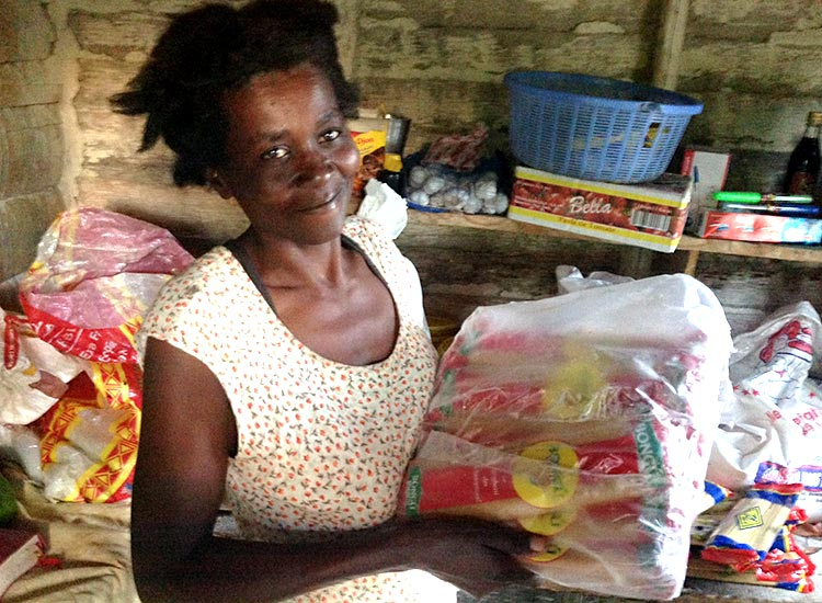 Madamn Adienne Joseph was sponsored by some very gracious donors.
