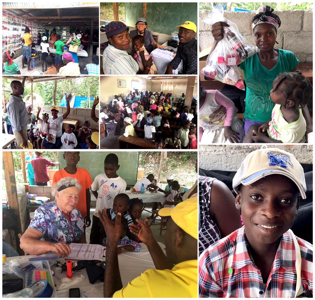 Mobile Medical Clinic in Lastik, Haiti