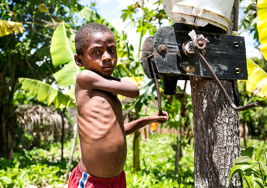 Save the Children: One in ten Haitian children are severely malnourished.