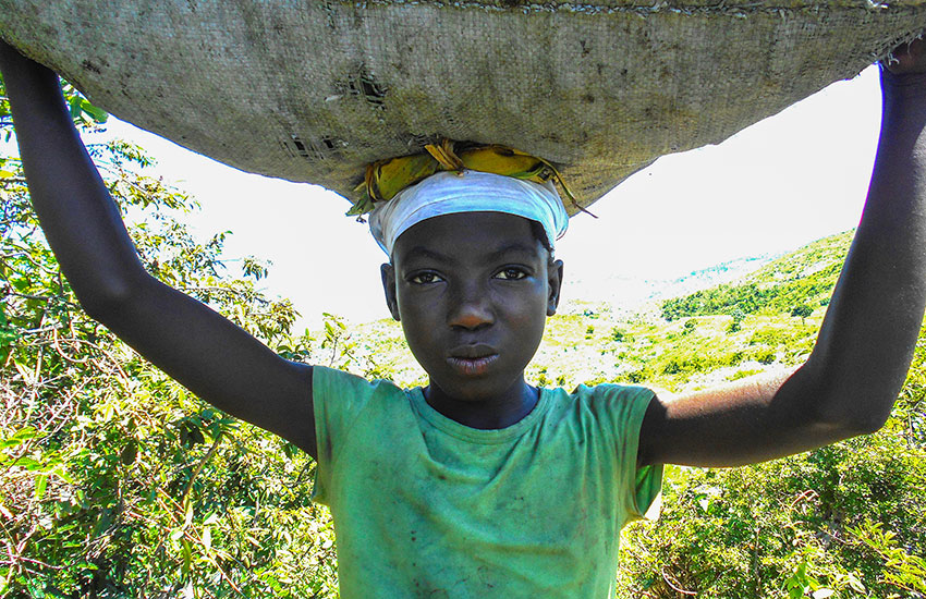 Haiti is in a food crisis.