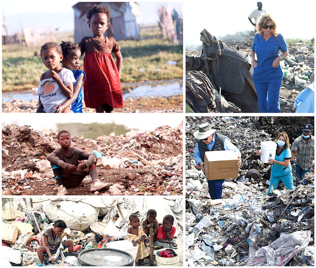 Special Christmas for children living in the garbage dump