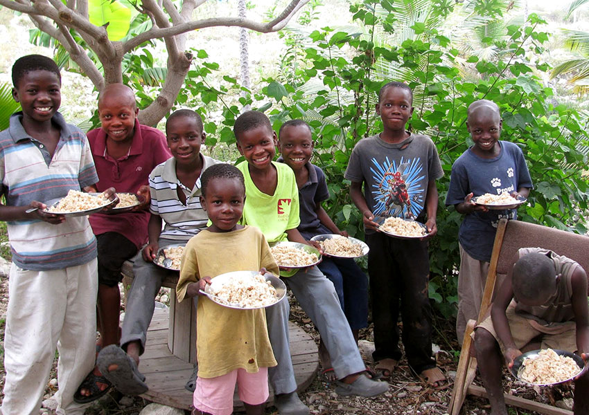 This food is helping save thousands of children from starvation and malnutrition.