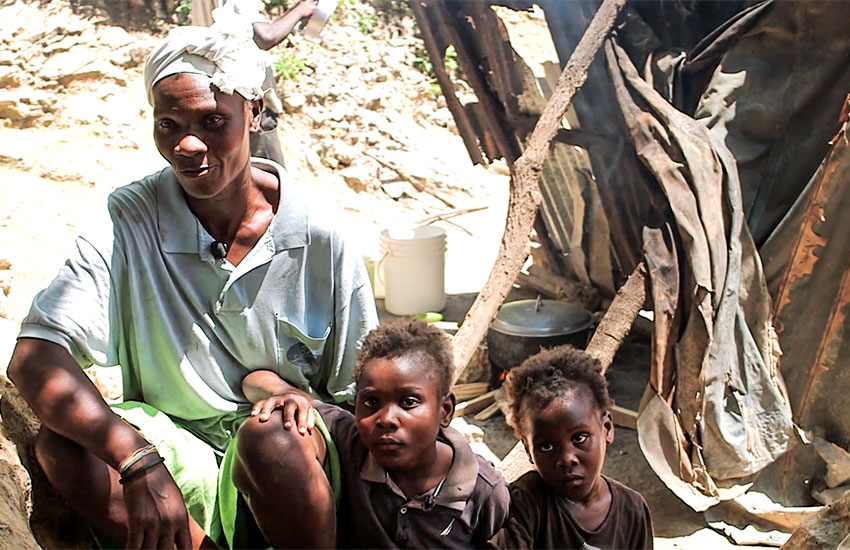 Most Haitians, whether they are rich or poor, place great importance on family life.