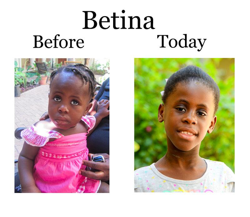 Update on Betina